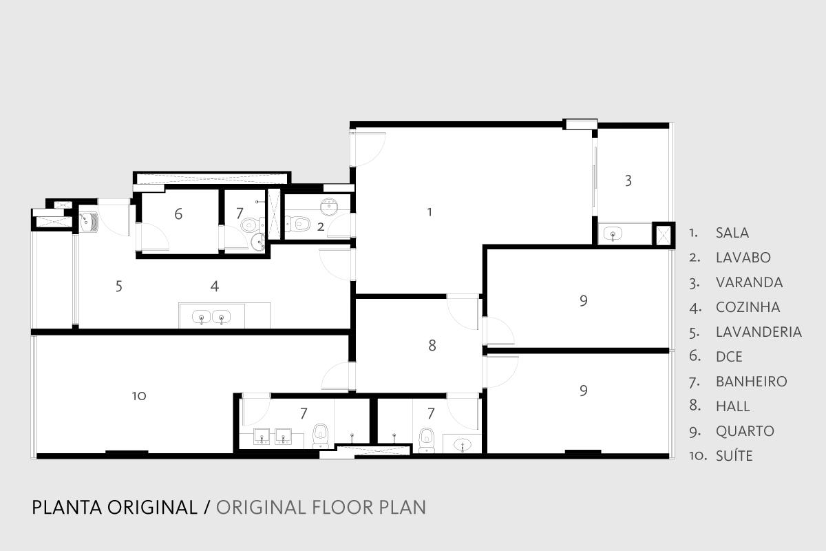 Plan original site